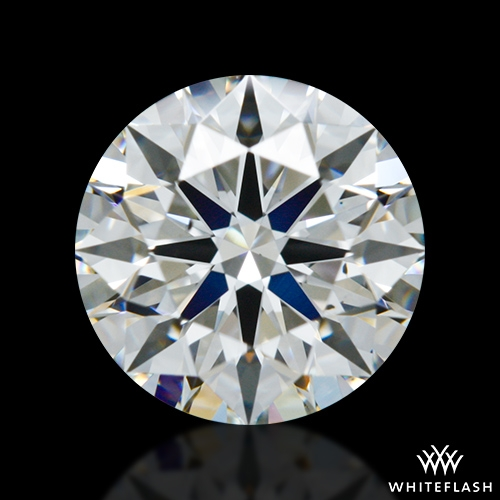 0.944 ct H VS2 A CUT ABOVE® Hearts and Arrows Super Ideal Round Cut Loose Diamond
