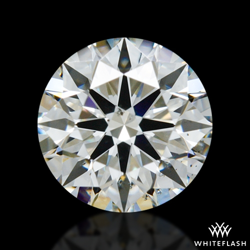 0.922 ct I SI1 A CUT ABOVE® Hearts and Arrows Super Ideal Round Cut Loose Diamond