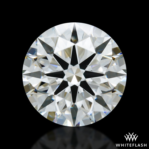 0.977 ct H VS2 A CUT ABOVE® Hearts and Arrows Super Ideal Round Cut Loose Diamond