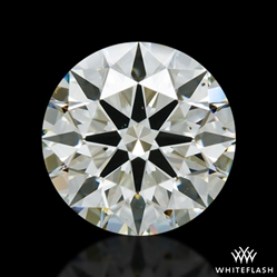1.336 ct K VS2 A CUT ABOVE® Hearts and Arrows Super Ideal Round Cut Loose Diamond
