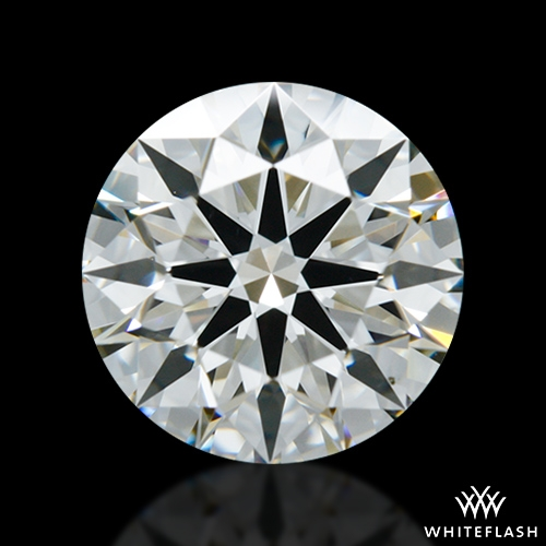 1.508 ct J VS2 A CUT ABOVE® Hearts and Arrows Super Ideal Round Cut Loose Diamond