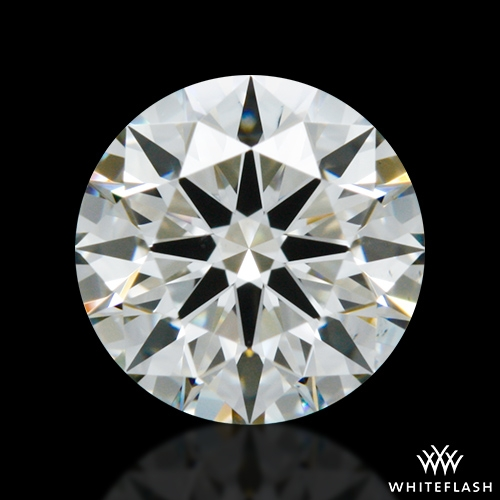0.816 ct I VS2 A CUT ABOVE® Hearts and Arrows Super Ideal Round Cut Loose Diamond