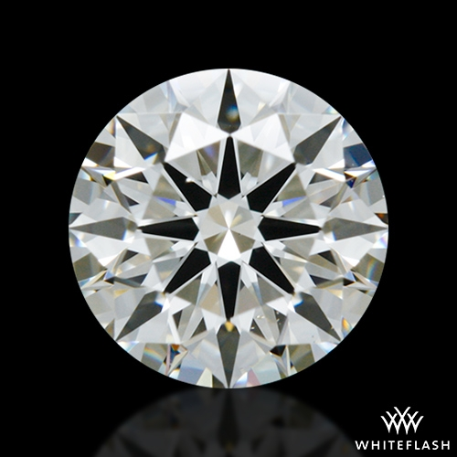 0.748 ct H VS2 A CUT ABOVE® Hearts and Arrows Super Ideal Round Cut Loose Diamond