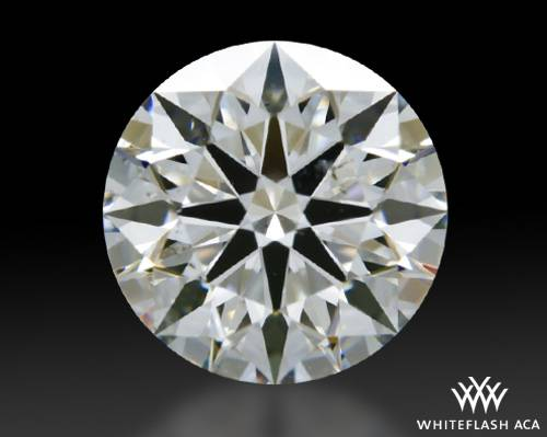0.935 ct F SI2 A CUT ABOVE® Hearts and Arrows Super Ideal Round Cut Loose Diamond