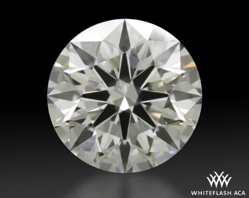 1.374 ct E VS2 A CUT ABOVE® Hearts and Arrows Super Ideal Round Cut Loose Diamond