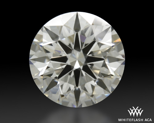 1.374 ct E VS2 A CUT ABOVE® Hearts and Arrows Super Ideal Round Cut Loose Diamond