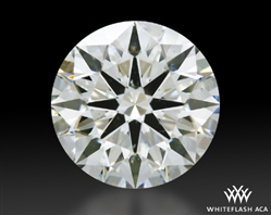 1.33 ct J SI2 A CUT ABOVE® Hearts and Arrows Super Ideal Round Cut Loose Diamond