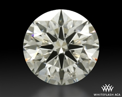 0.802 ct I SI1 A CUT ABOVE® Hearts and Arrows Super Ideal Round Cut Loose Diamond