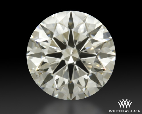0.801 ct H SI1 A CUT ABOVE® Hearts and Arrows Super Ideal Round Cut Loose Diamond