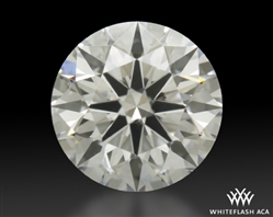 0.754 ct G SI1 A CUT ABOVE® Hearts and Arrows Super Ideal Round Cut Loose Diamond