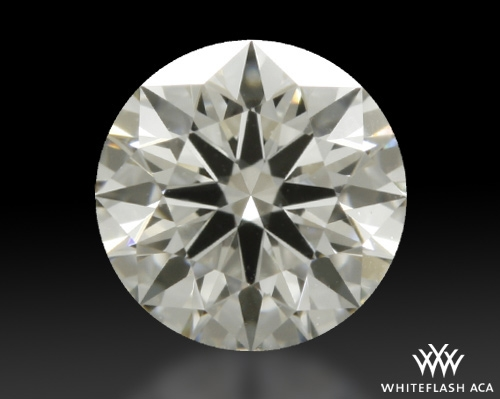 0.388 ct I VS1 A CUT ABOVE® Hearts and Arrows Super Ideal Round Cut Loose Diamond