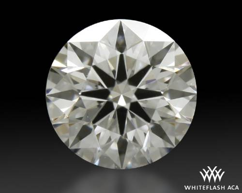 0.41 ct E SI1 A CUT ABOVE® Hearts and Arrows Super Ideal Round Cut Loose Diamond