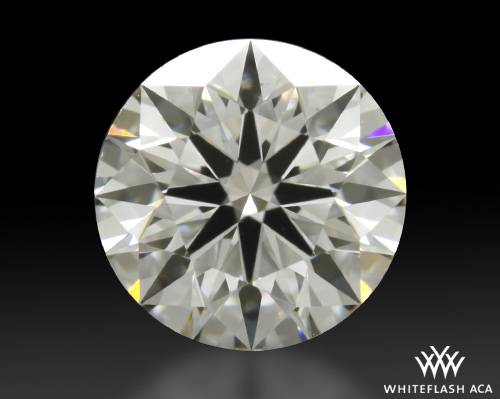 0.837 ct F VS2 A CUT ABOVE® Hearts and Arrows Super Ideal Round Cut Loose Diamond