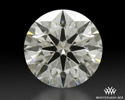 0.846 ct F VS2 A CUT ABOVE® Hearts and Arrows Super Ideal Round Cut Loose Diamond