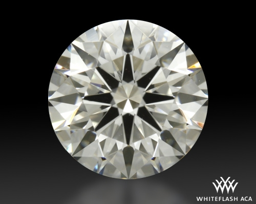 0.905 ct H VS1 A CUT ABOVE® Hearts and Arrows Super Ideal Round Cut Loose Diamond