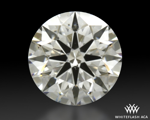 0.794 ct E SI1 A CUT ABOVE® Hearts and Arrows Super Ideal Round Cut Loose Diamond