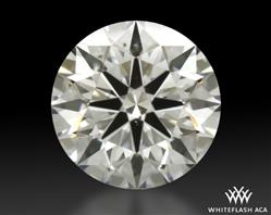 0.794 ct E SI1 A CUT ABOVE® Hearts and Arrows Super Ideal Round Cut Loose Diamond