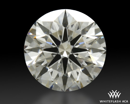 0.773 ct F SI1 A CUT ABOVE® Hearts and Arrows Super Ideal Round Cut Loose Diamond