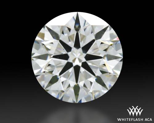 0.721 ct G VS1 A CUT ABOVE® Hearts and Arrows Super Ideal Round Cut Loose Diamond