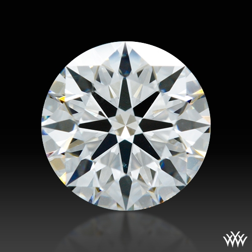 0.808 ct G SI1 A CUT ABOVE® Hearts and Arrows Super Ideal Round Cut Loose Diamond