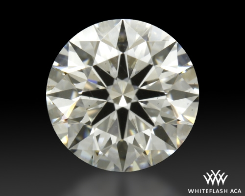 0.802 ct H SI1 A CUT ABOVE® Hearts and Arrows Super Ideal Round Cut Loose Diamond