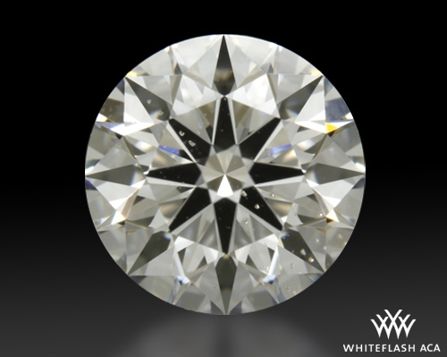 1.016 ct G SI1 A CUT ABOVE® Hearts and Arrows Super Ideal Round Cut Loose Diamond