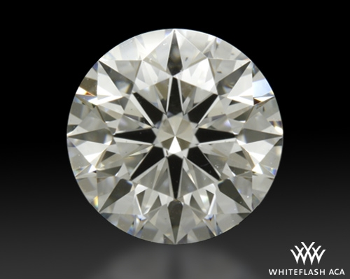 1.042 ct F SI1 A CUT ABOVE® Hearts and Arrows Super Ideal Round Cut Loose Diamond
