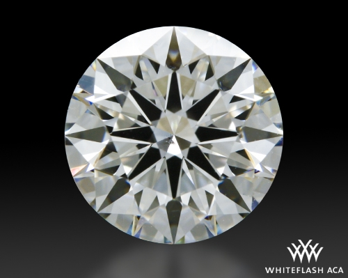 1.201 ct G SI1 A CUT ABOVE® Hearts and Arrows Super Ideal Round Cut Loose Diamond