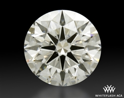 1.241 ct H SI1 A CUT ABOVE® Hearts and Arrows Super Ideal Round Cut Loose Diamond