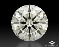 1.206 ct H SI1 A CUT ABOVE® Hearts and Arrows Super Ideal Round Cut Loose Diamond
