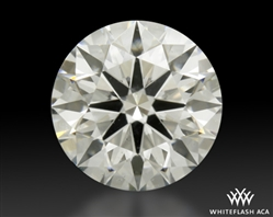 1.218 ct H SI2 A CUT ABOVE® Hearts and Arrows Super Ideal Round Cut Loose Diamond