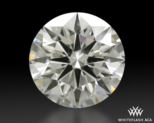 1.72 ct G SI1 A CUT ABOVE® Hearts and Arrows Super Ideal Round Cut Loose Diamond