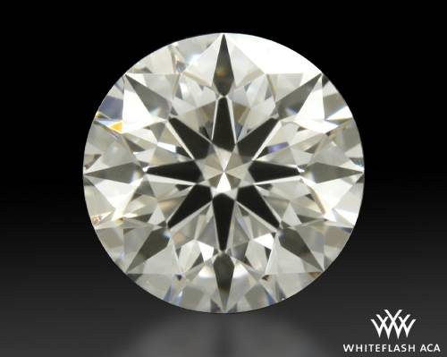 0.437 ct H VS1 A CUT ABOVE® Hearts and Arrows Super Ideal Round Cut Loose Diamond