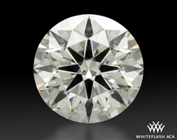 2.582 ct H SI2 A CUT ABOVE® Hearts and Arrows Super Ideal Round Cut Loose Diamond