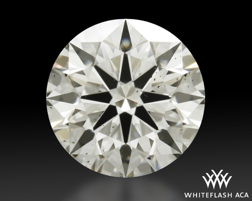 0.846 ct I SI1 A CUT ABOVE® Hearts and Arrows Super Ideal Round Cut Loose Diamond