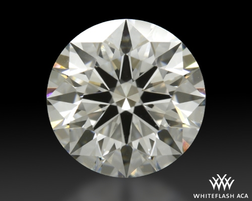 1.095 ct G VS2 A CUT ABOVE® Hearts and Arrows Super Ideal Round Cut Loose Diamond