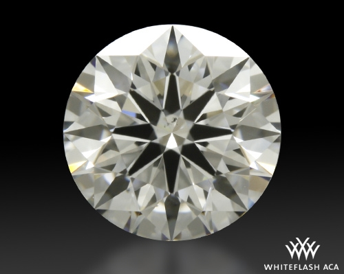 0.816 ct F VS2 A CUT ABOVE® Hearts and Arrows Super Ideal Round Cut Loose Diamond