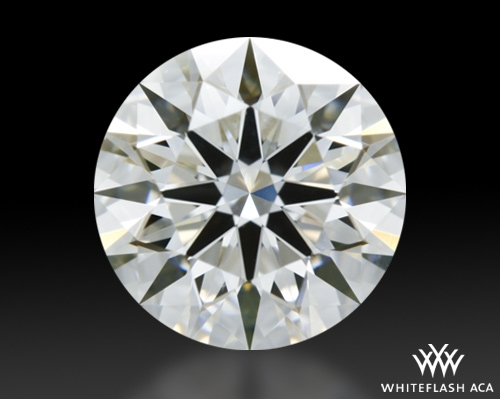 1.01 ct H VS1 A CUT ABOVE® Hearts and Arrows Super Ideal Round Cut Loose Diamond