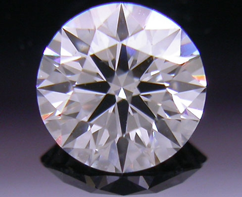 0.37 ct E SI1 A CUT ABOVE® Hearts and Arrows Super Ideal Round Cut Loose Diamond