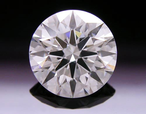 1.057 ct H SI1 A CUT ABOVE® Hearts and Arrows Super Ideal Round Cut Loose Diamond