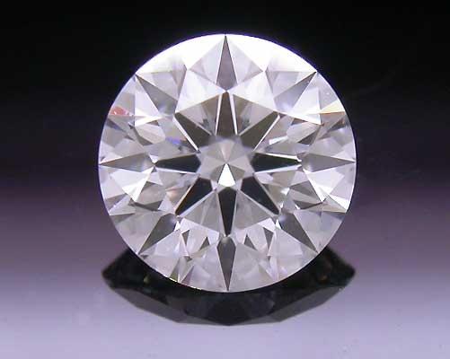 0.381 ct E VS2 A CUT ABOVE® Hearts and Arrows Super Ideal Round Cut Loose Diamond