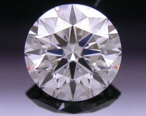 0.382 ct F SI1 A CUT ABOVE® Hearts and Arrows Super Ideal Round Cut Loose Diamond