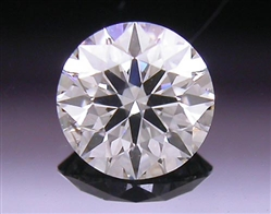 0.275 ct J SI1 A CUT ABOVE® Hearts and Arrows Super Ideal Round Cut Loose Diamond