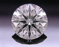 0.528 ct F VS2 A CUT ABOVE® Hearts and Arrows Super Ideal Round Cut Loose Diamond