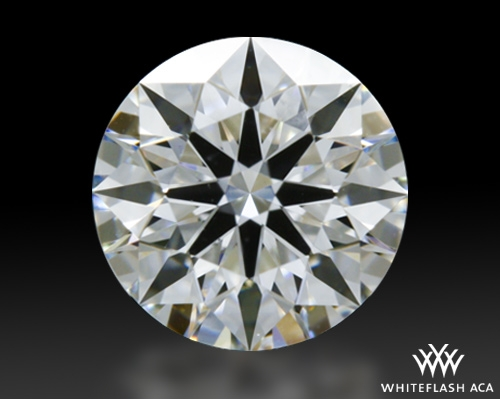 0.644 ct F VS2 A CUT ABOVE® Hearts and Arrows Super Ideal Round Cut Loose Diamond