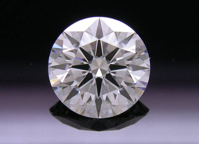 1.215 ct H VS1 A CUT ABOVE® Hearts and Arrows Super Ideal Round Cut Loose Diamond
