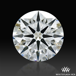 1.32 ct H VS2 A CUT ABOVE® Hearts and Arrows Super Ideal Round Cut Loose Diamond