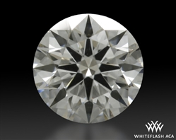 0.48 ct F VS2 A CUT ABOVE® Hearts and Arrows Super Ideal Round Cut Loose Diamond
