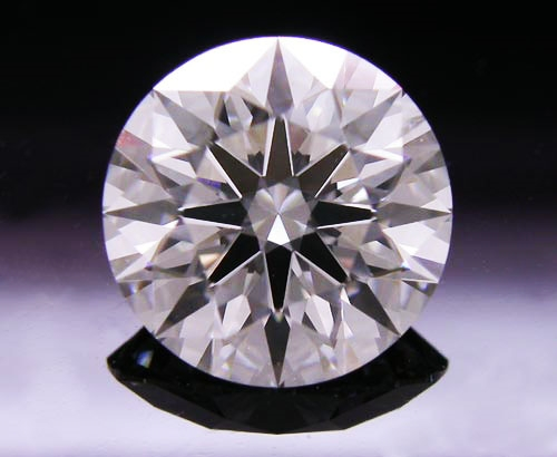 1.193 ct I SI1 A CUT ABOVE® Hearts and Arrows Super Ideal Round Cut Loose Diamond