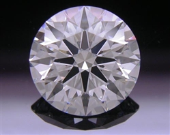 1.513 ct F SI1 A CUT ABOVE® Hearts and Arrows Super Ideal Round Cut Loose Diamond